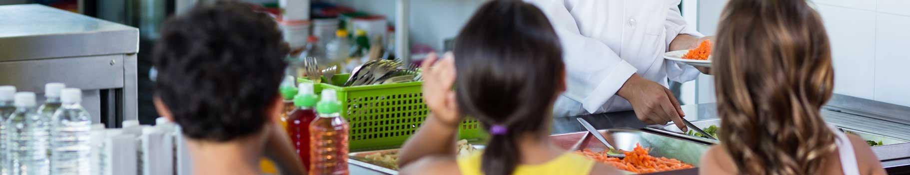 Imagen de instalaciones para comedores escolares y colegios